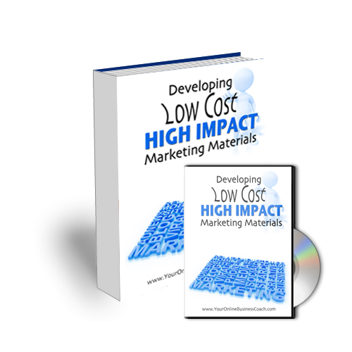 Module 59 - Low Cost High Impact Marketing Strategies